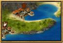 Schermata di Grepolis - Mappa